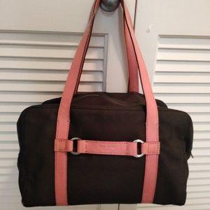 Kate Spade Vinyl and Leather Handbag